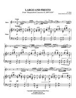 "Bach, J. S. - Largo and Presto from ""Harpsichord Concerto #5, BWV1056"" (image 2)"