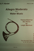 "Handel, G.F. - Allegro Moderato (from ""Water Music"")"