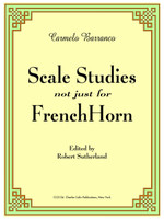 Barranco, Carmelo - Scale Studies Not Just for French Horn (image 1)