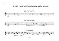 Vierlingers, Urs - Alphorn Sketches for Solo, Duo, Trio and Quartet