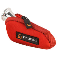 ProTec Neoprene Mouthpiece Pouch, Red