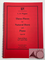 Wiggins, C.D. - Three Pieces for Natural Horn and Piano, Op. 88