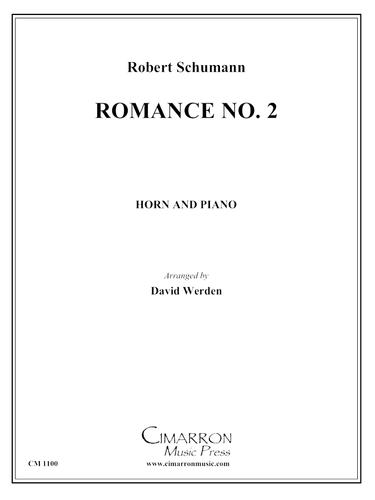Schumann, Robert - Romance No. 2 (image 1)