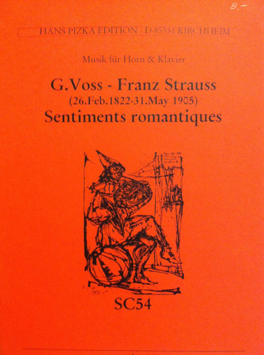 Strauss, Franz - Sentiments Romantiques (image 1)