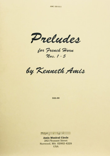 Amis, Kenneth – Preludes, Nos. 1-5 (image 1)