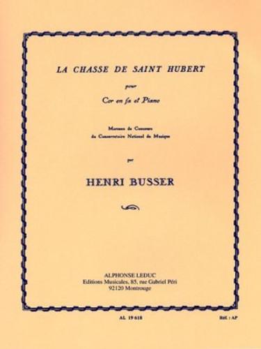 Busser, Henri - La Chasse De Saint Hubert (image 1)