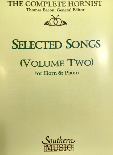 Bacon, Thomas - Selected Songs, Volume 2 (image 1)