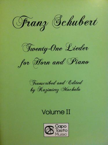 Schubert, Franz - 21 Lieder, Volume 2 (image 1)