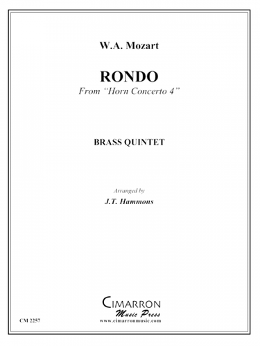 "Mozart - Rondo From ""Horn Concerto 4"" (image 1)"
