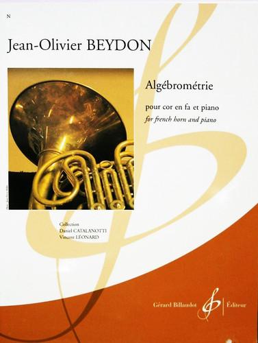 Beydon, Jean Olivier - Algebrometrie