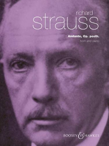 Strauss, Richard - Andante in F, Op. Posth. (image 1)