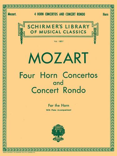 Mozart, W.A. - Four Concertos and Concert Rondo (image 1)