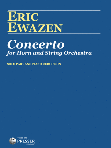 Ewazen, Eric - Concerto (image 1)