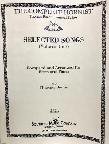 Bacon, Thomas - Selected Songs, Vol. 1 (image 1)