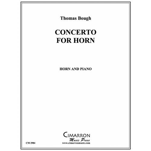 Bough, Thomas - Concerto for Horn (image 1)