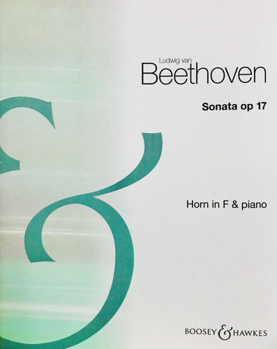 Beethoven, Ludwig - Sonata Opus 17 for Horn and Piano (image 1)