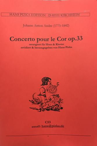Andre, Johann Anton - Concerto for Horn, Op. 33 (image 1)