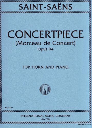 Saint-Saens - Morceau de Concert, Opus 94 (Concertpiece) (image 1)