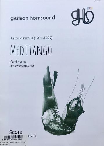Piazzolla, Astor - Meditango (image 1)
