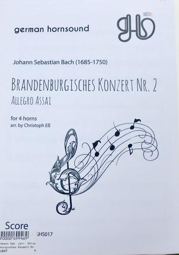 Bach, J.S. - Brandenburg Concerto No. 2 (image 1)