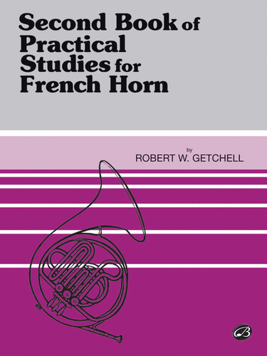 Getchell, Robert W. - Second Book of Practical Studies for French Horn (image 1)