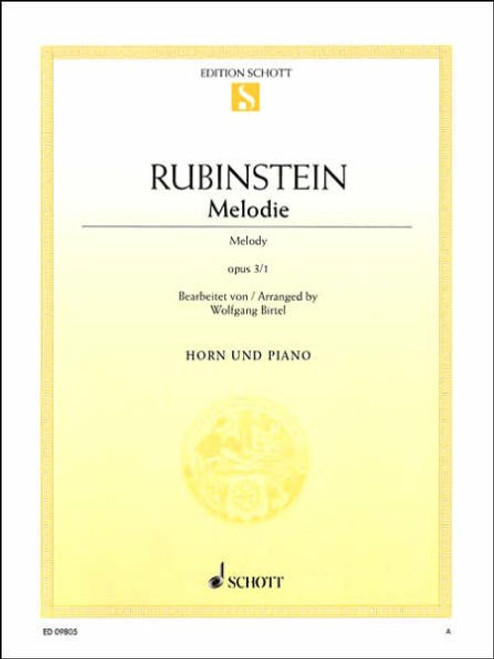 Rubinstein, Anton - Melodie (image 1)