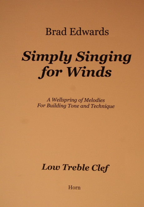 Edwards, Brad - Simply Singing For Winds