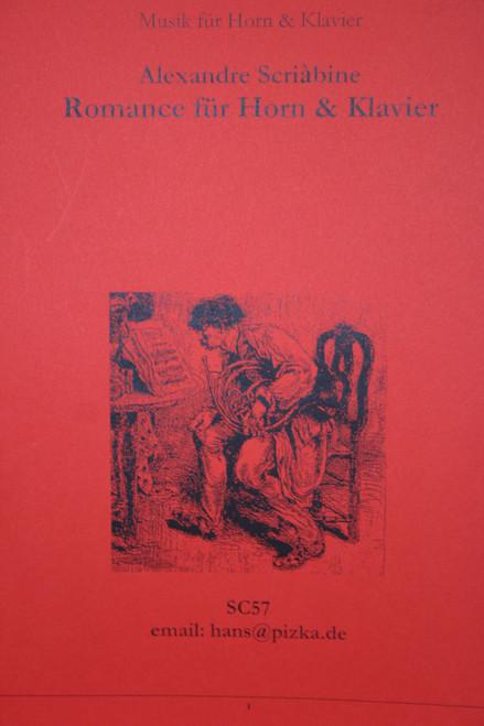 Scriabin, Alexander - Romance (image 1)