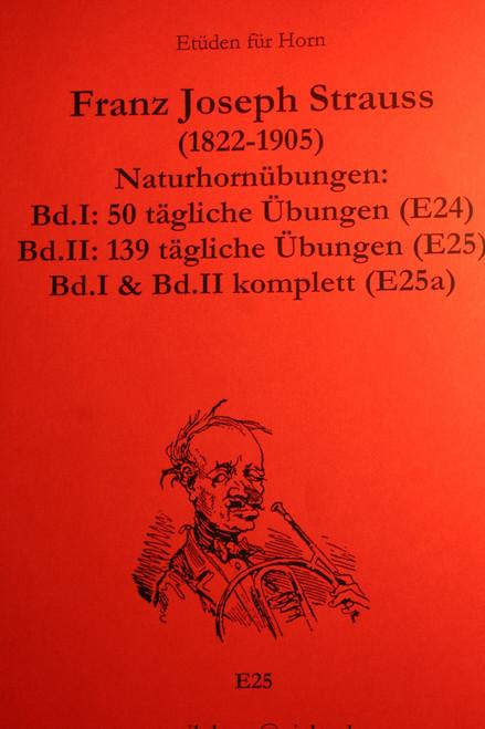 Strauss, Franz - Uebungen, Vol. II