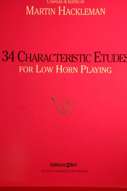 Hackleman, Martin - 34 Characteristic Etudes