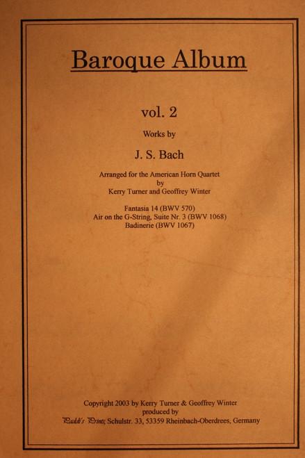 Bach, J.S. - Baroque Album, Vol. 2