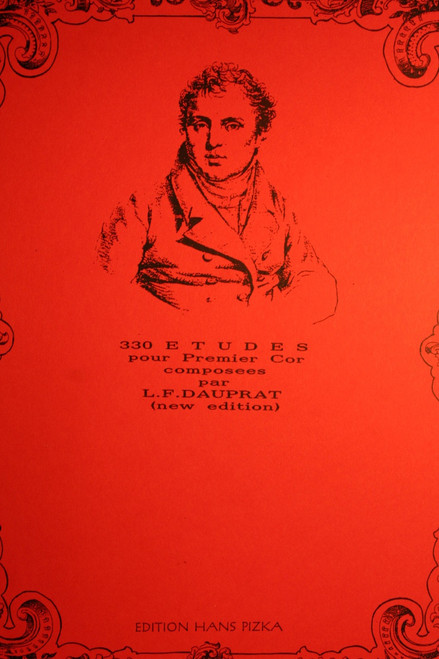 Dauprat, Louis - 330 Etudes for 1st and 2nd Horn (Handhorn Studies)