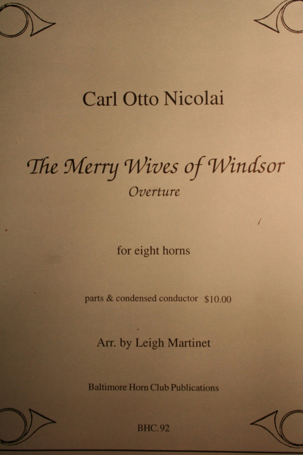 Nicolai, Carl Otto - The Merry Wives of Windsor, Overture