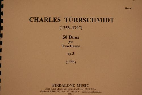 Turrschmidt - 50 Duos, Op. 3