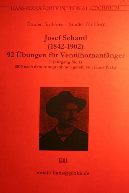 Schantl, Josef - 92 Exercises for Beginners