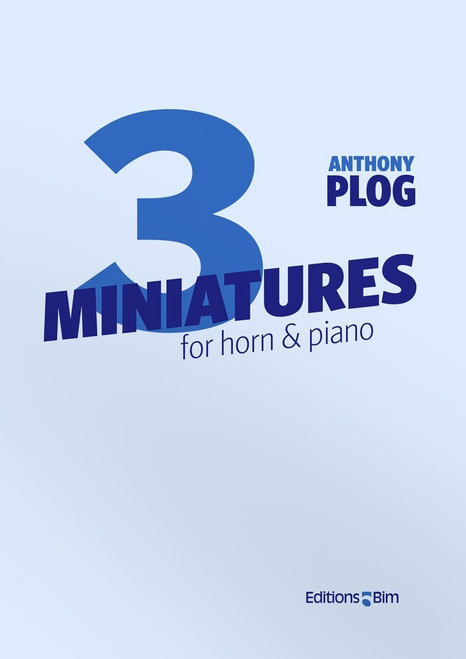 Plog, Anthony - Three Miniatures (image 1)