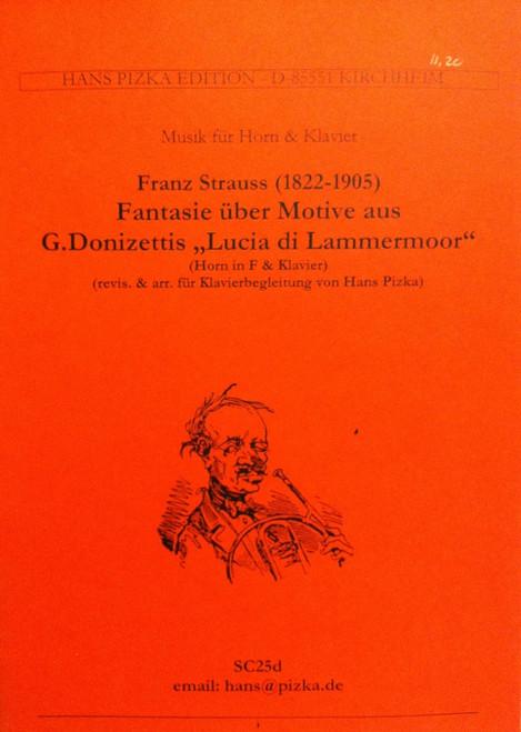 Strauss, Franz - Fantasy On Motifs (image 1)