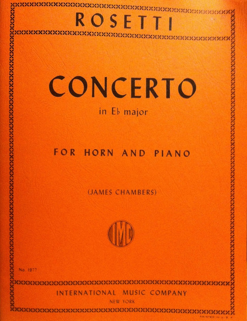 Rosetti, Antonio - Concerto in E-flat Major (image 1)