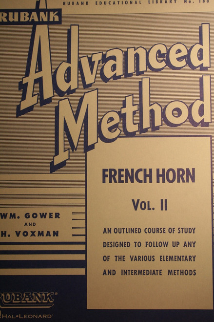 Rubank - Advanced Method for the French Horn, Vol. 2