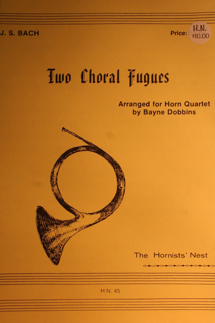 Bach - Two Chorale Fugues
