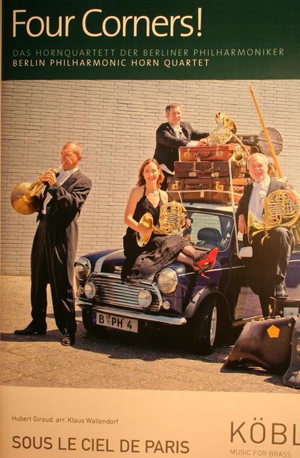 Berlin Philharmonic, Four Corners! - Sous Le Ciel De Paris