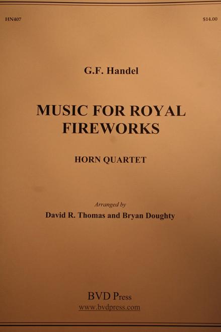 Handel - Music For Royal Fireworks (arr. Thomas & Doughty)