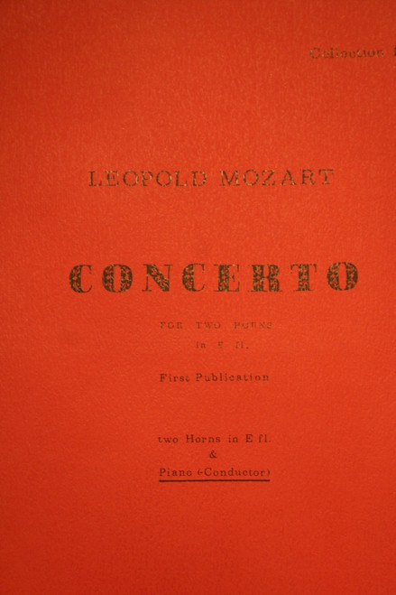 Mozart (Leopold) - Duo Concerto in Eb