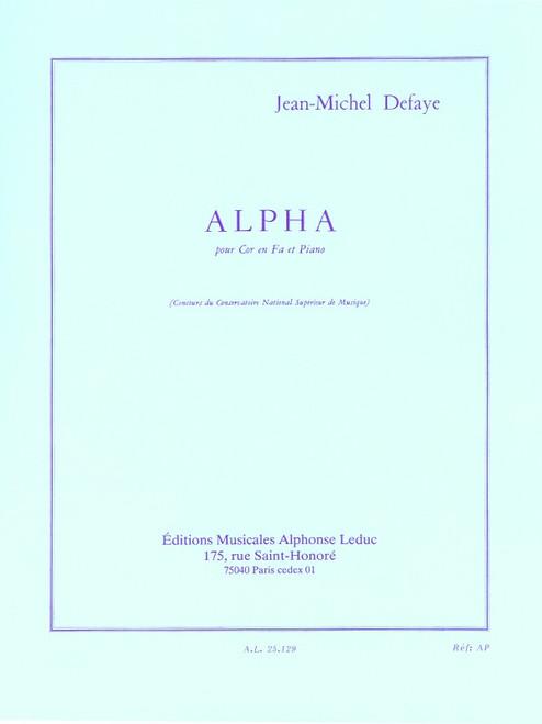 Defaye, Jean-Michel - Alpha (image 1)