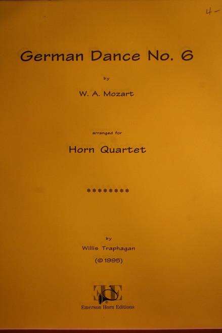 Mozart, W.A. - German Dance No. 6