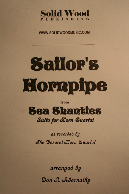 Traditional - Sailors Hornpipe