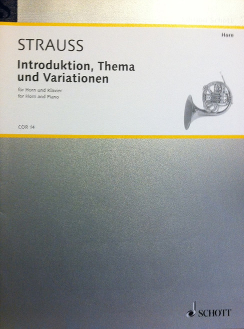 Strauss, Richard - Introduction, Theme and Variations (new picture needed)