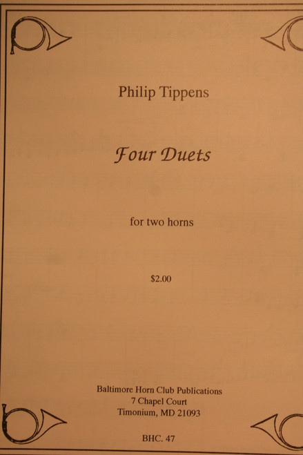 Tippens - Four Duets