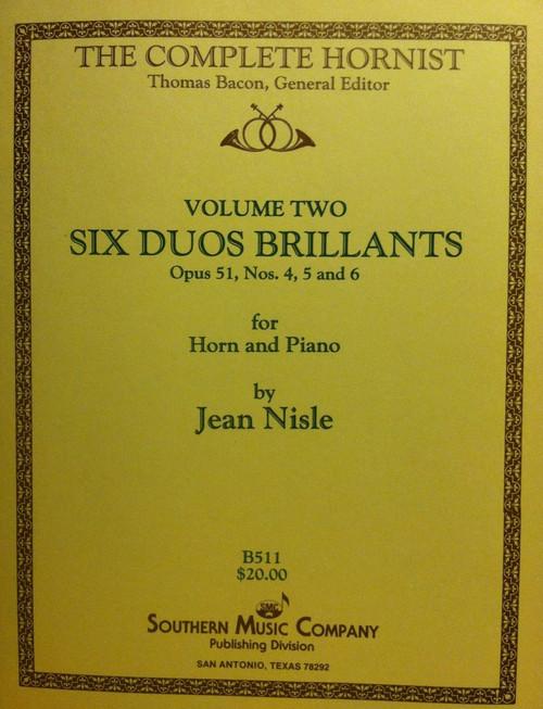 Nisle, Jean - Six Duos Brilliants, Volume 2 (image 1)