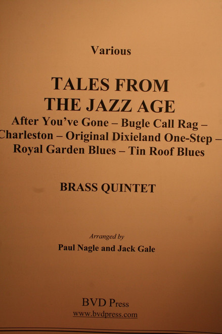 Traditional - Tales From The Jazz Age (Collections)